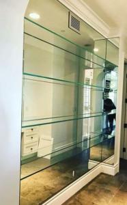 estanteria cristal