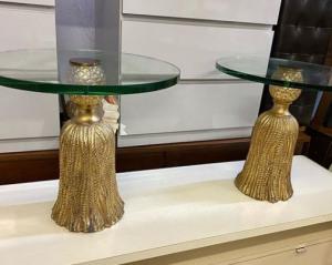 decoracion con baldas de cristal