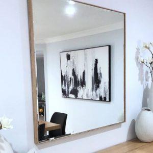 espejo cuadrado grande