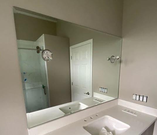 espejos de baño rusticos