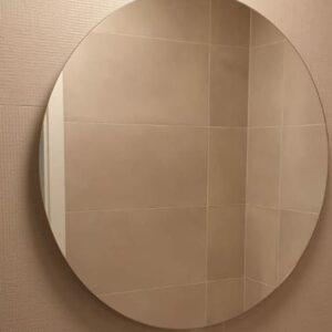 espejo redondo sin marcos