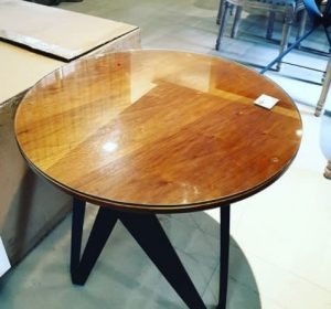 tablero de mesa cristal