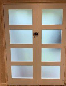 puerta cocina cristal