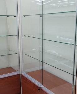 estanteria cristal vitrina
