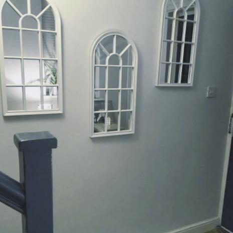 ventanas con espejo