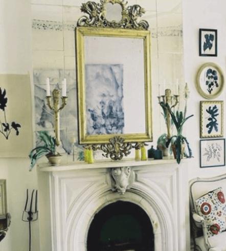 espejos de cristal decorativos