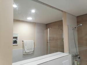 espejo de baño con iluminacion led