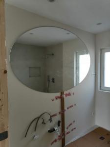 espejos redondos de baño con luz