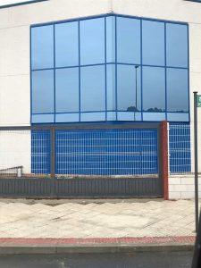 muro de vidrio