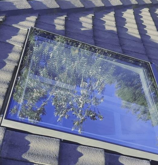 cristal de tragaluz