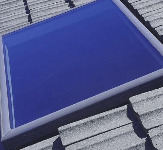 techo con tragaluz