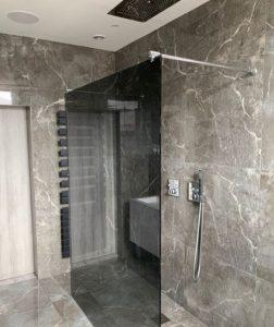mampara ducha cristal ahumado