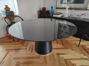 mesa cristal negro