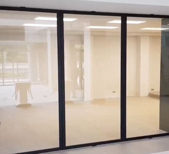 puertas de aluminio concristal
