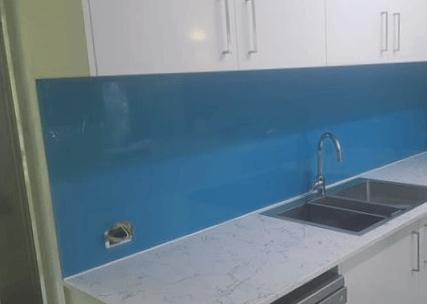 salpicadero cocina de vidrio