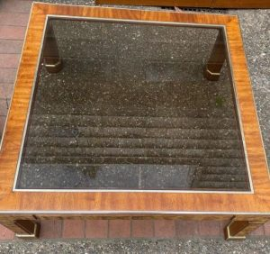 tablero de cristal mesa