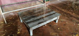 tablero de mesa de cristal